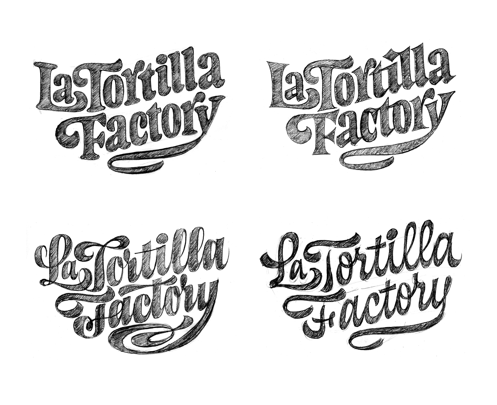 La Tortilla Factory Sketches